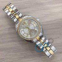 Наручные женские часы Michael Kors 7086 Silver-Gold-Silver