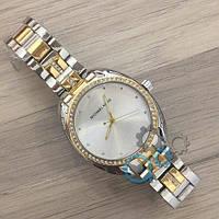 Наручные женские часы Michael Kors 7096Y Silver-Gold-Silver