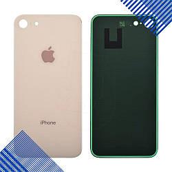 Задняя крышка iPhone 8, цвет золотой