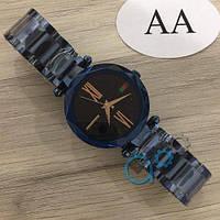 Наручные мужские часы Gucci 046 Blue-Black
