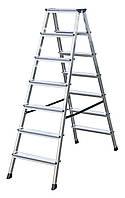Аренда лестниц 2*7 (взять лестницу в аренду), аренда лестницы киев., взять лестницу в аренду., фото 1