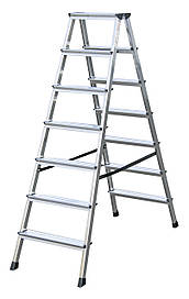 Аренда лестниц 2*7 (взять лестницу в аренду), аренда лестницы киев., взять лестницу в аренду.