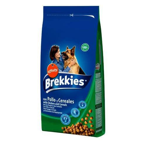 Brekkies Dog Chicken для собак всех пород (20 кг)