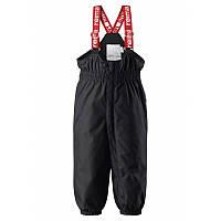 Черные брюки унисекс Reimatec Stockholm размеры 86 зима девочка;мальчик TM Reima 512094-9990