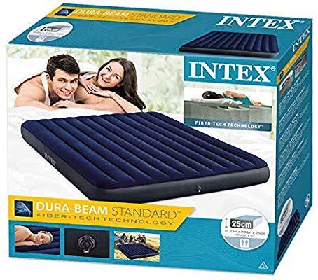 Надувной матрас Intex 64755 183х203х25 см. DURA-BEAM