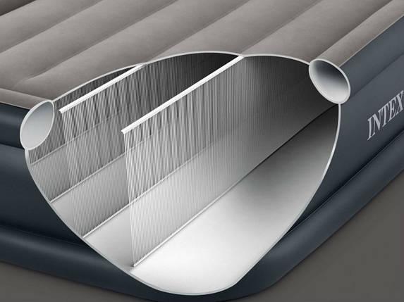 Надувной матрас Intex 64755 183х203х25 см. DURA-BEAM, фото 2