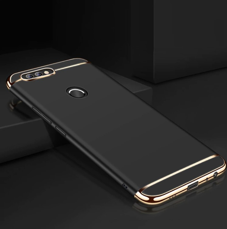 Чехол с золотыми вставками для Xiaomi Mi 8 Lite (2 Цвета)
