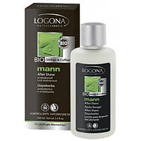 Logona Logona БИО-Жидкость антибактериальная после бритья Кофеин и Гинкго (100 мл)