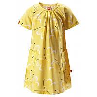 Желтое летнее платье Haili размеры 104;110;86;92 лето девочка TM Reima 515001-2333