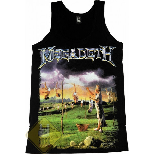 "Майка Megadeth ""Youthanasia"", Размер S"