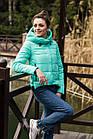 Стильная женская куртка с капюшоном - модель 2019 - (кт-454), фото 6