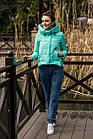 Стильная женская куртка с капюшоном - модель 2019 - (кт-454), фото 7
