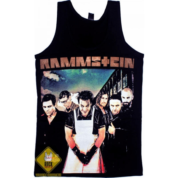 """Майка Rammstein """"LIFAD"""", Размер M"""