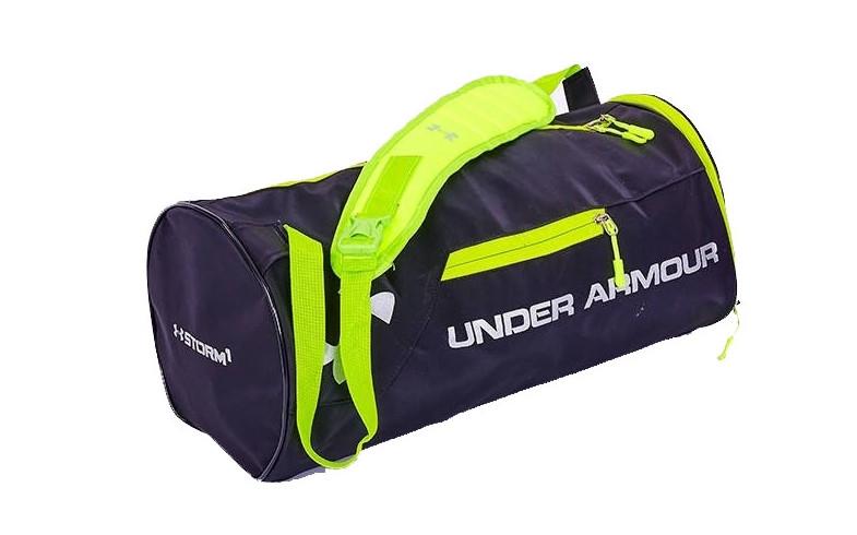 b22a5ab0e040 Спортивная сумка-бочонок в стиле UNDER ARMOUR GA-5631 с отделением для обуви  цвет