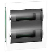 Щит пластиковый 24 м встраиваемый прозрачная дверь Ez9 Schneider Electric EZ9E212S2F