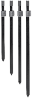 Подставка телескопическая CarpZoom Black Power 38-71cм