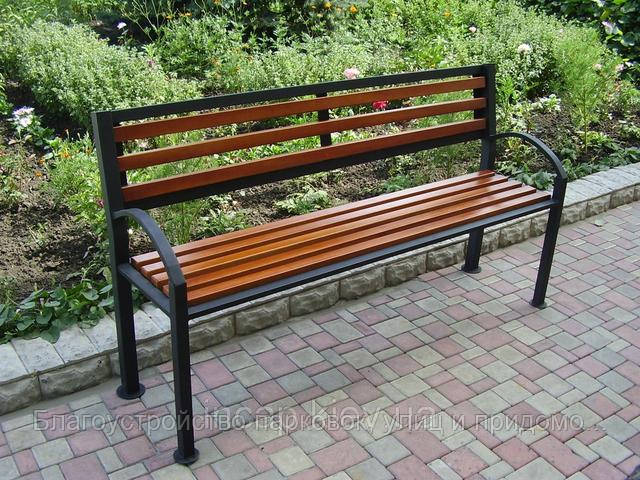 скамейки парковые