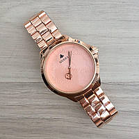 Наручные женские часы Gucci 7161 GFS  All Cuprum