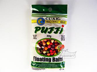 Прикормка CUKK Puffi со вкусом ливера крупного размера 30г