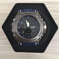 Наручные мужские часы Casio G-Shock GST-700 Silver-Blue Wrisband