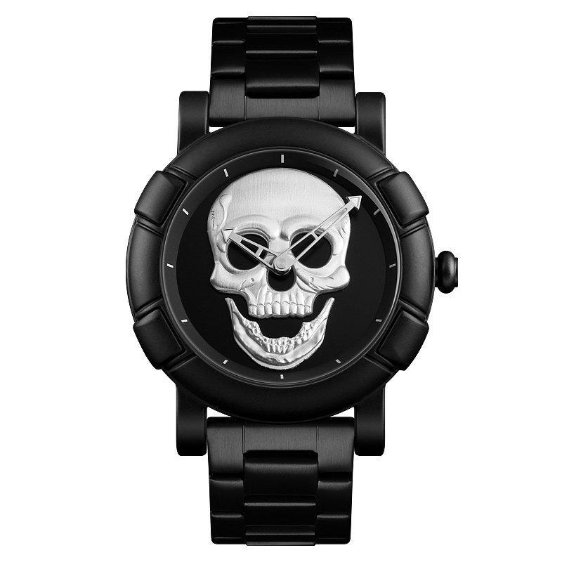 Наручные мужские часы Skmei 9178 Black-Silver