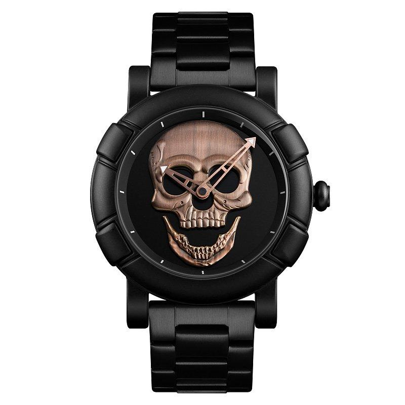 Наручные мужские часы Skmei 9178 Black-Cuprum