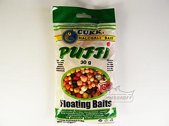 Прикормка CUKK Puffi со вкусом лобстера mix размеров 30г