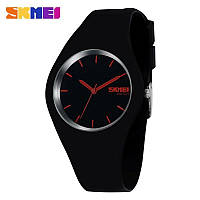 Наручные женские часы Skmei 9068 Black-Red