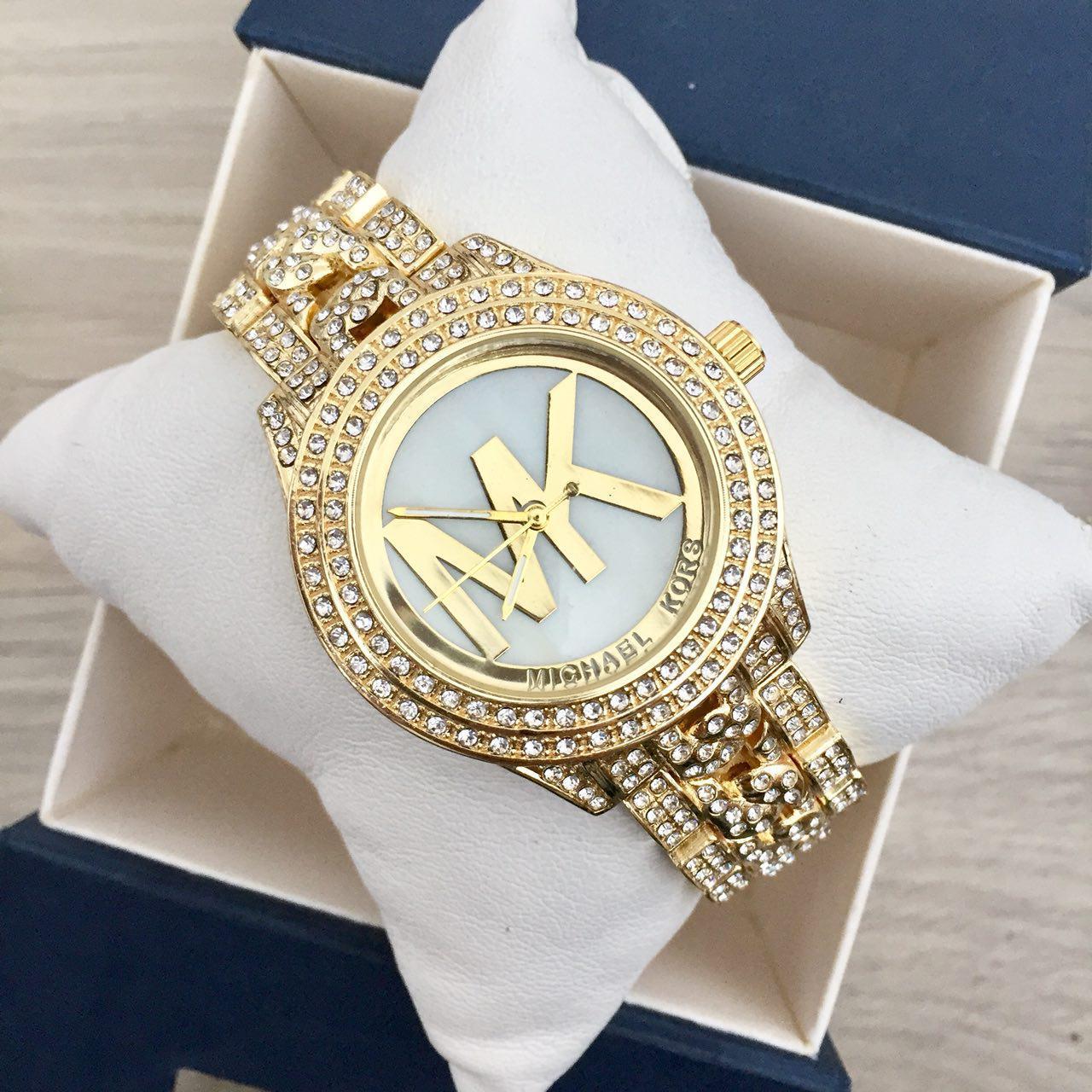 Наручные женские часы Michael Kors 6449 Gold