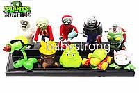 Набор фигурок 10 шт Растения против зомби | Plants vs Zombies игрушка