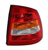 Фонарь задний правый Opel Astra G (седан) 1998 - 2009 красно-белый, (Magneti Marelli, 714028771803) - шт.