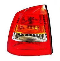 Фонарь задний левый Opel Astra G (седан) 1998 - 2009 красно-белый, (Magneti Marelli, 714028771701) - шт.