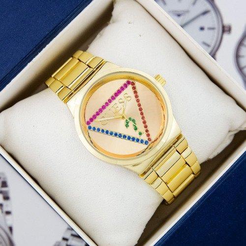 Наручные женские часы Guess 7156 Gold