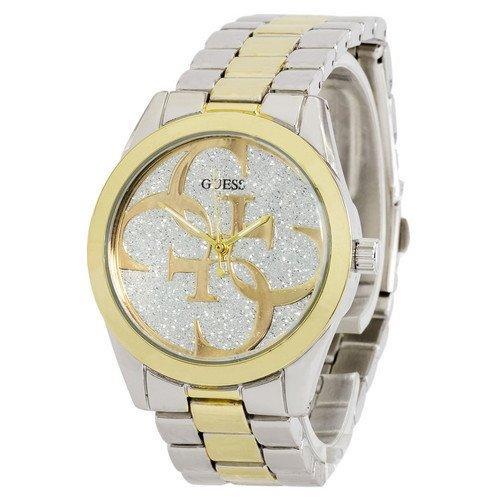 Наручные женские часы Guess 6990 Silver-Yellow Gold