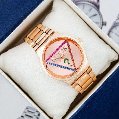 Наручные женские часы Guess 7156 Pink Gold