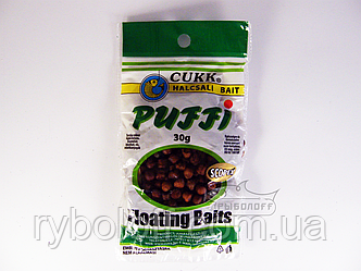Прикормка CUKK Puffi со вкусом scopex крупного размера 30г