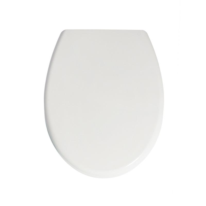 Крышка для унитаза белая с микролифтом Samba AWD02181494