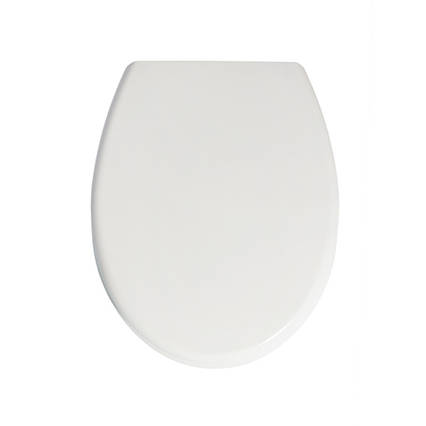 Кришка для унітазу біла з мікроліфтом Samba AWD02181494