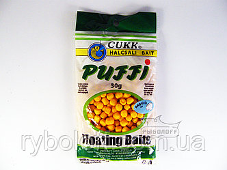 Прикормка CUKK Puffi со вкусом ракушки крупного размера 30г