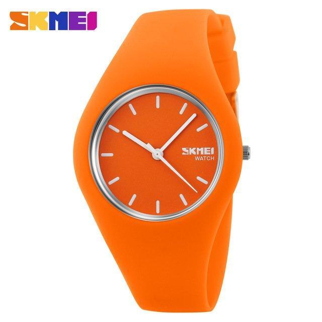 Наручные женские часы Skmei 9068 Orange