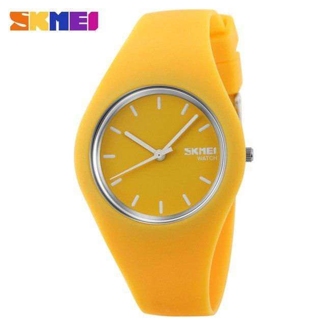 Наручные женские часы Skmei 9068 Yellow