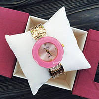 Наручные женские часы Baosaili Gold-Pink
