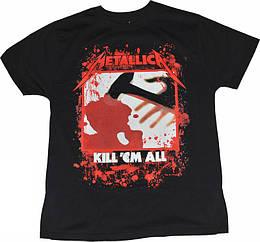 "Футболка Metallica ""Kill'em All"", Размер S"