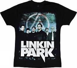 Футболка Linkin Park (фото группы), Размер XL