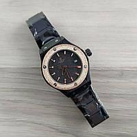 Наручные мужские часы Hublot Classic Fusion Black-Gold-Black Metall Small