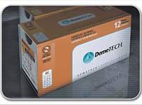 DemeBOND Полиэстер плетёный  2, 45мм колющая игла 1/2 окружности нить 75 см зелёная