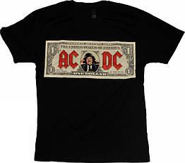 Футболка AC/DC (dollar), Размер S