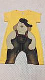 """Пісочник """"Мультяшки"""" колір і малюнок уточнюйте р 74-80 Туреччина, фото 8"""
