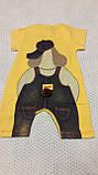 """Пісочник """"Мультяшки"""" колір і малюнок уточнюйте р 74-80 Туреччина, фото 9"""