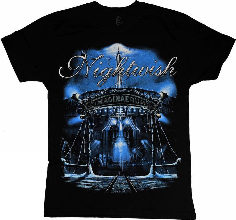 "Черная футболка Nightwish ""Imagenaerum"", Размер XL"
